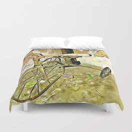 Once Upon a Time - Toy Trike Duvet Cover