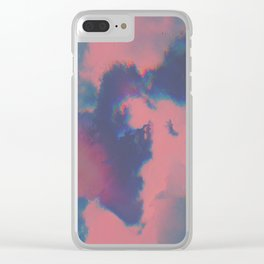 Dream Mood Clear iPhone Case