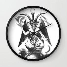 Baphomet - Satanic Church Wall Clock