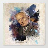 tolkien Canvas Prints featuring J.R.R. Tolkien by Philipe Kling
