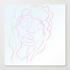 pastel belle Canvas Print