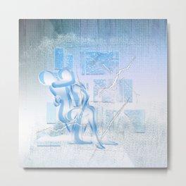 Eispaar Metal Print
