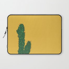 Mexico City (Ciudad de México), Mexico Cactus Travel Poster Laptop Sleeve