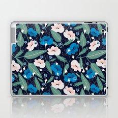 Blue Botanical Laptop & iPad Skin