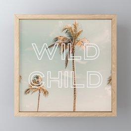 Wild Child Framed Mini Art Print