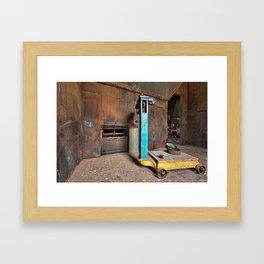 Waterside Woolen Mill Framed Art Print