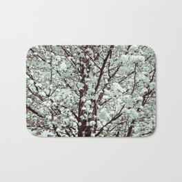 Winter Petals Bath Mat