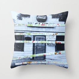 American Shut Down Throw Pillow