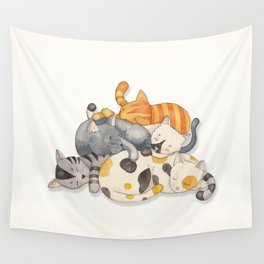 Cat Nap (Siesta Time) Wall Tapestry