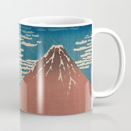 Fine Wind, Clear Weather also known as Red Fuji Coffee Mug