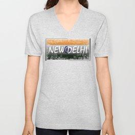 New Delhi Unisex V-Neck
