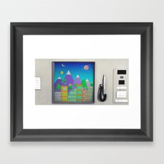 CompuSpace B Framed Art Print