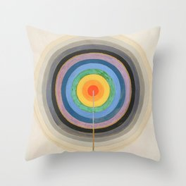 Hilma Af Klint Series VIII Picture Of The Starting Point Throw Pillow