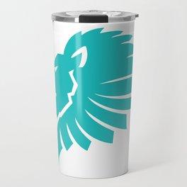 Lion's Head Logo Travel Mug