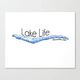 Skaneateles Lake Life Canvas Print