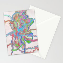 Crazy Art Stationery Cards