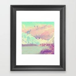 Hardangerfjord Day Framed Art Print