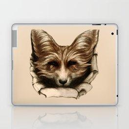 Hallo Fuchs! Mixed Media Art Laptop & iPad Skin