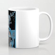 Blue Bird Lizard Mug
