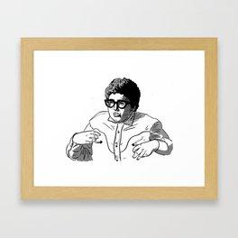 Pat Framed Art Print