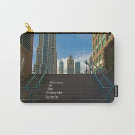 Welcome To The Concrete Jungle Carry-All Pouch