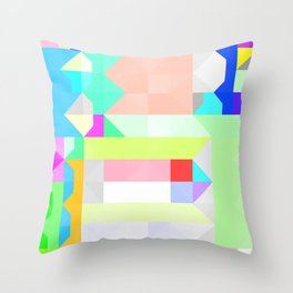 All As One Pattern Throw Pillow