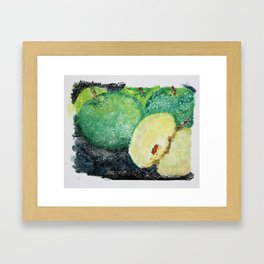 Granny Smith Apple Framed Art Print