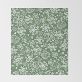 Irish Lace Throw Blanket