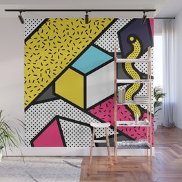 Memphis Pop-art Pattern III Wall Mural