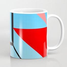Blue lines & Circles Coffee Mug