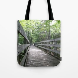 Boardwalk to Lighthouse Tote Bag