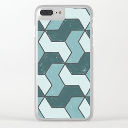 Distressed to Impress Clear iPhone Case