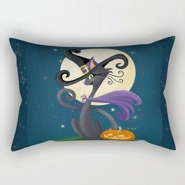 Halloween Night Magic Rectangular Pillow