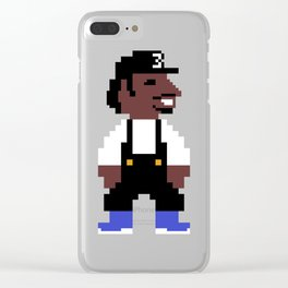Chance the 8-bit Clear iPhone Case