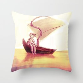 Peaceful efforts Throw Pillow