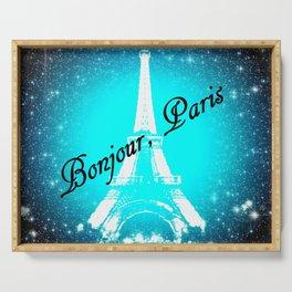 Bonjour, Paris! Serving Tray