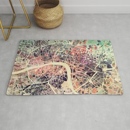 London Mosaic Map #1 Rug