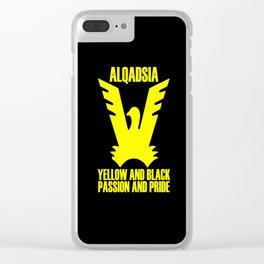 Slogan Qadsia Clear iPhone Case