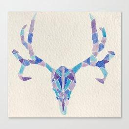 Geometric Deer Canvas Print