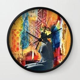 Spiritual Solitude Wall Clock