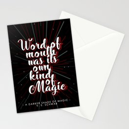 A Darker Shade of Magic #1 Stationery Cards