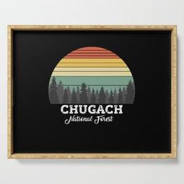 CHUGACH ALASKA Serving Tray