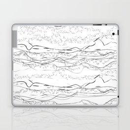 """Sand Dunes & Dot Pattern"" Laptop & iPad Skin"