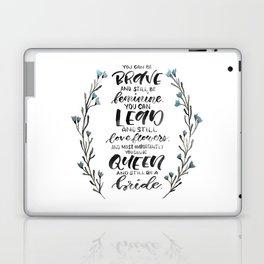 Queen & Bride Laptop & iPad Skin