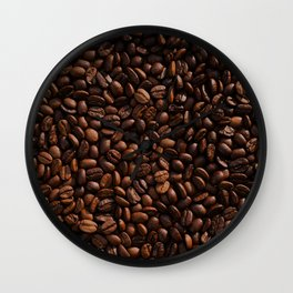Coffee Beans Wall Clock