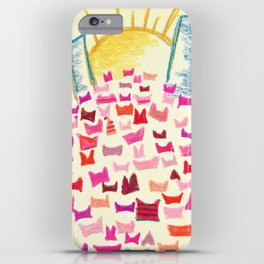 Pink Hats March for Equality iPhone Case