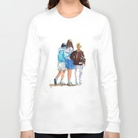 best friends Long Sleeve T-shirts featuring Best Friends by MadDog