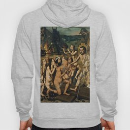 Descent of Christ into Limbo by Bartolome Bermejo, 1475 Hoody