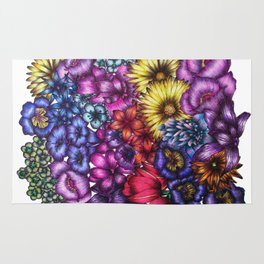 A Field of Flowers Rug