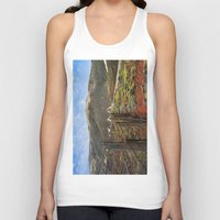 big sur Tank Tops featuring Big Sur Mountains by Jeremiah Wilson